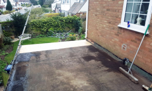 Day One of Roofing Job complete