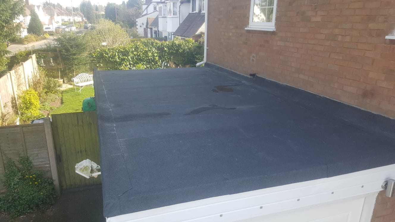 Roofing Job Update – Flat Roof in B74
